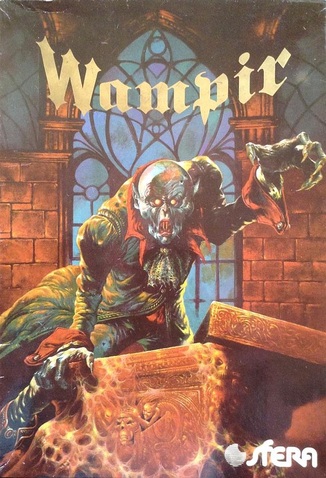 Zdjęcie okładki gry planszowej Wampir