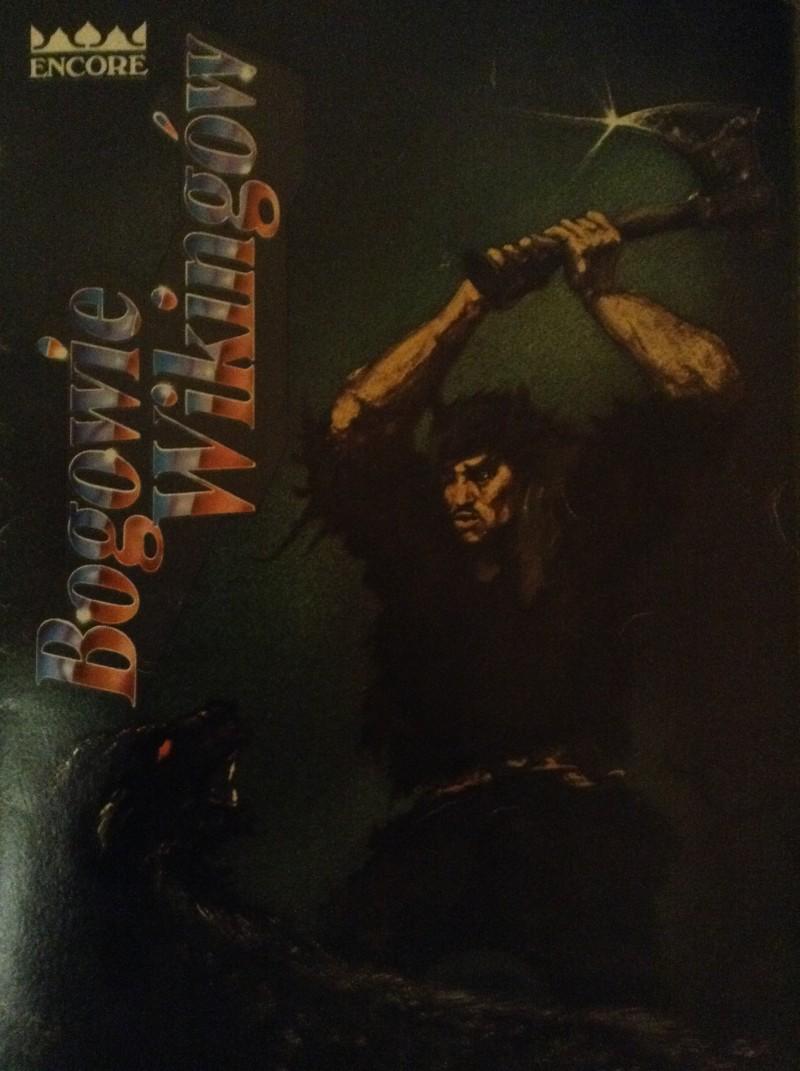 """Okładka gry planszowej """"Bogowie Wikingów"""" wydanej przez Wydawnictwo """"Encore"""" - wersja broszurowa"""