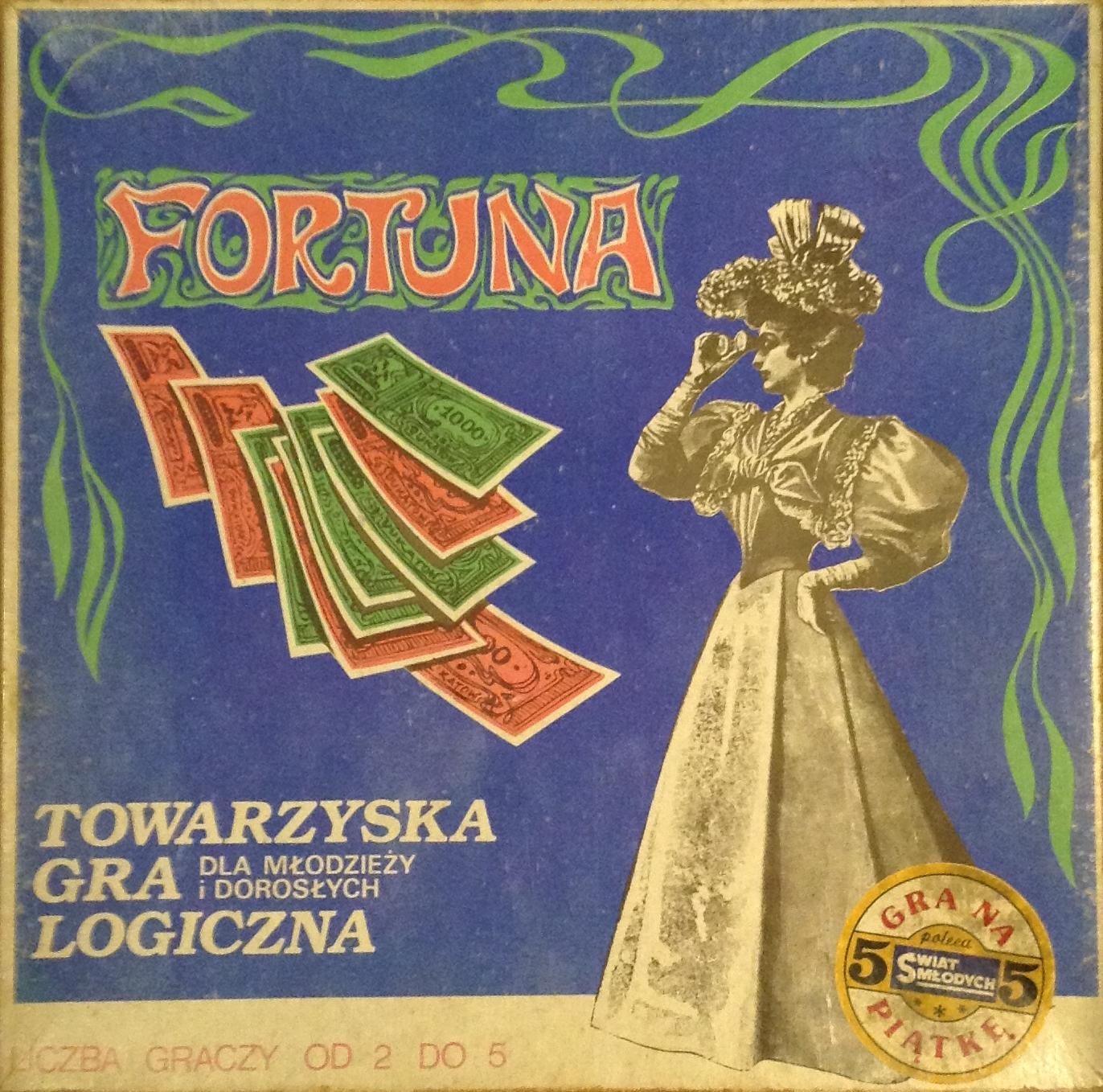 Gra planszowa Fortuna - pudełko