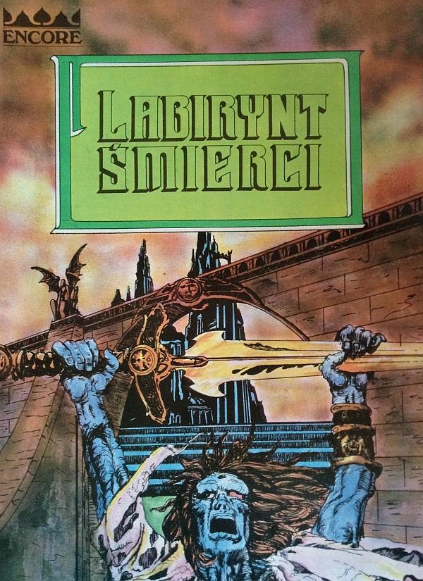Okładka gry Labirynt Śmierci