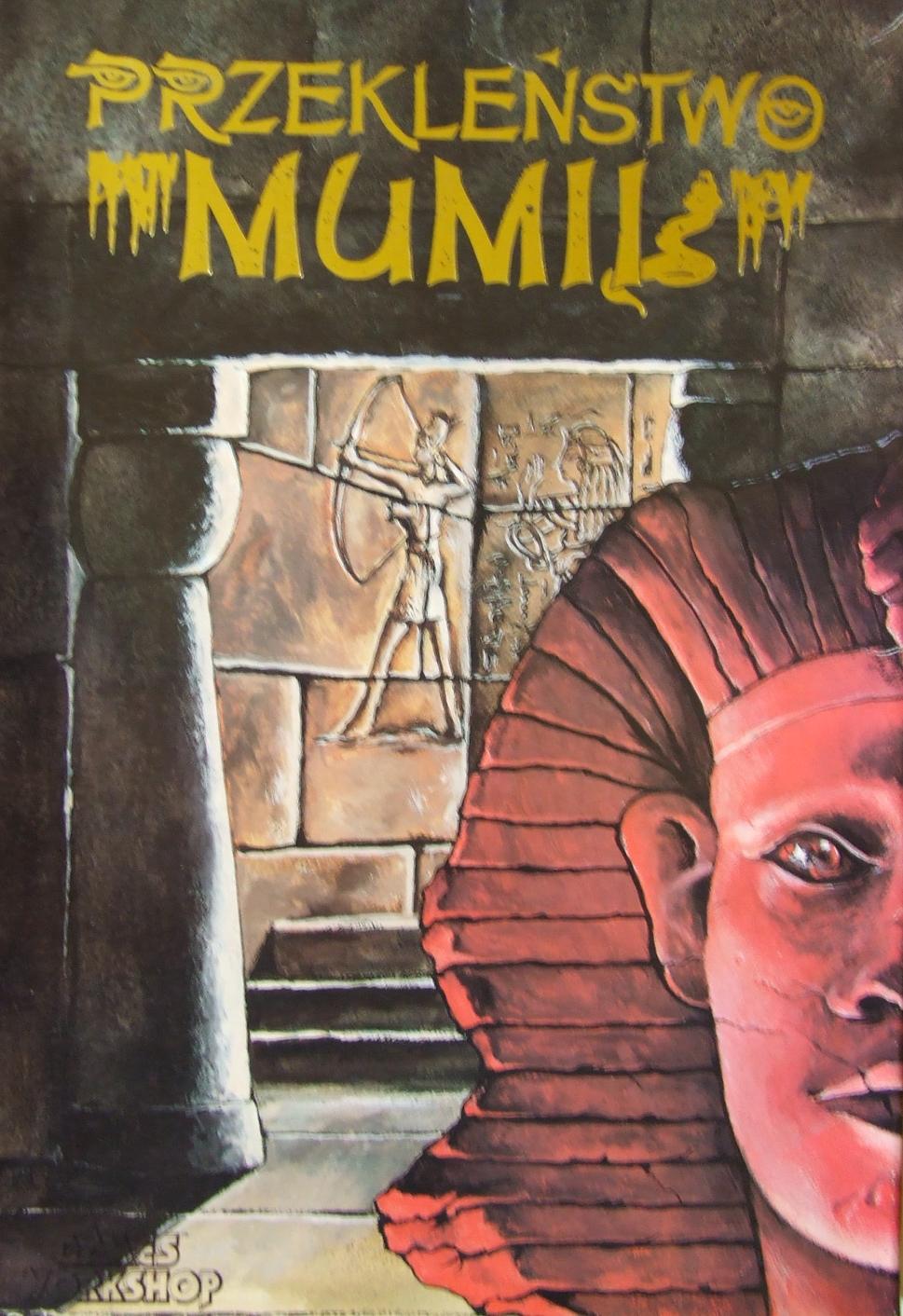 okładka gry Przekleństwo Mumii