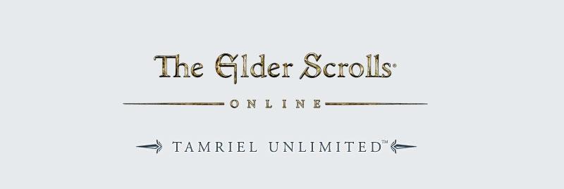 Skyrim Online Tamriel Unlimited logo