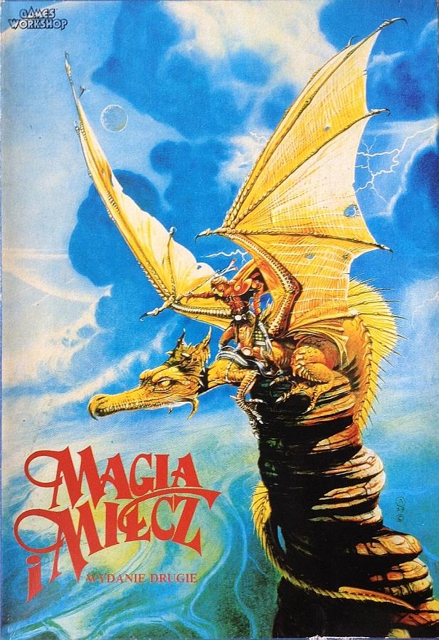 gra planszowa wydawnictwa sfera magia i miecz wydanie drugie pudełko