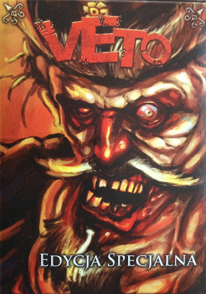 gra karciana Veto - okadka zestawu dodatkowego w edycji specjalnej